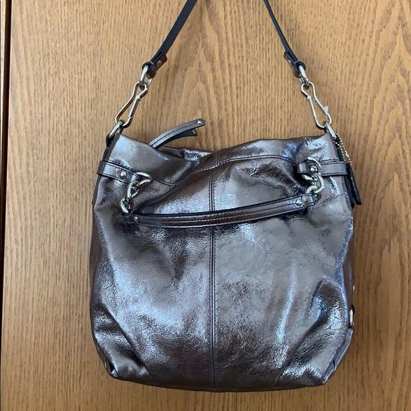 Coach Handbags - Coach Metallic